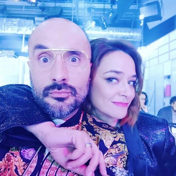Sergio Morante junto a Toñi Moreno.