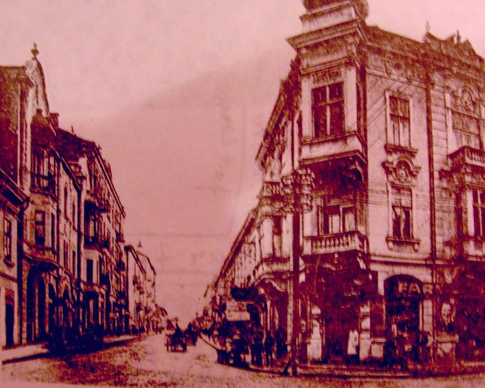 Strada Mare a Sucevei, în 1936