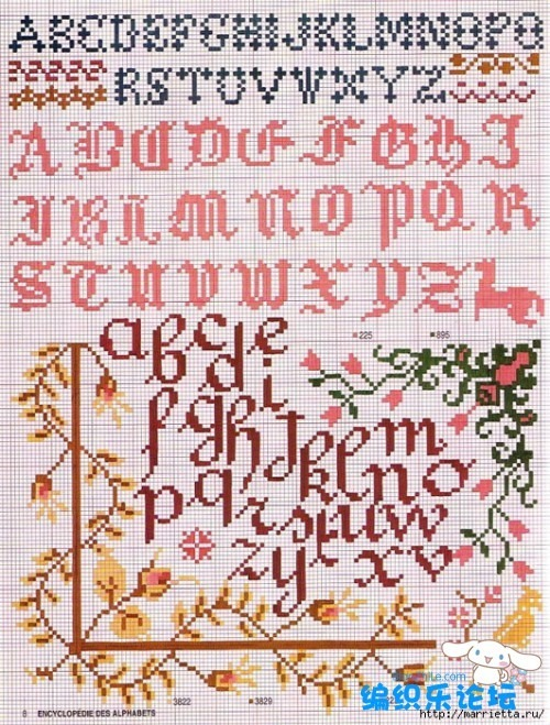 abecedarios varios punto cruz (2)