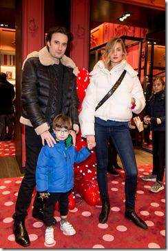 MONCLER ENFANT OPENING EVENT MILANO SPIGA_Matteo Ceccarini e Leonardo, Eva Riccobono
