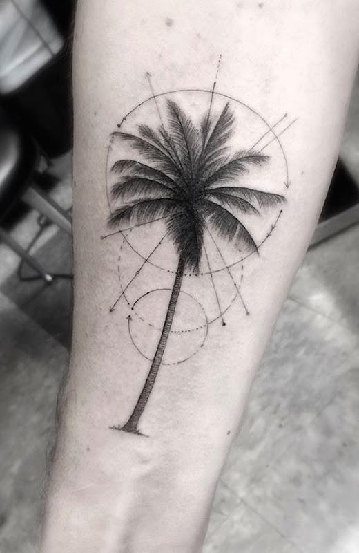 refinado_geomtricas_palmeira_antebraço_tatuagem