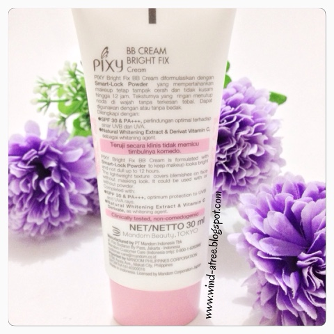 [Review] PIXY BB Cream Bright Fix SPF 30 & PA ++