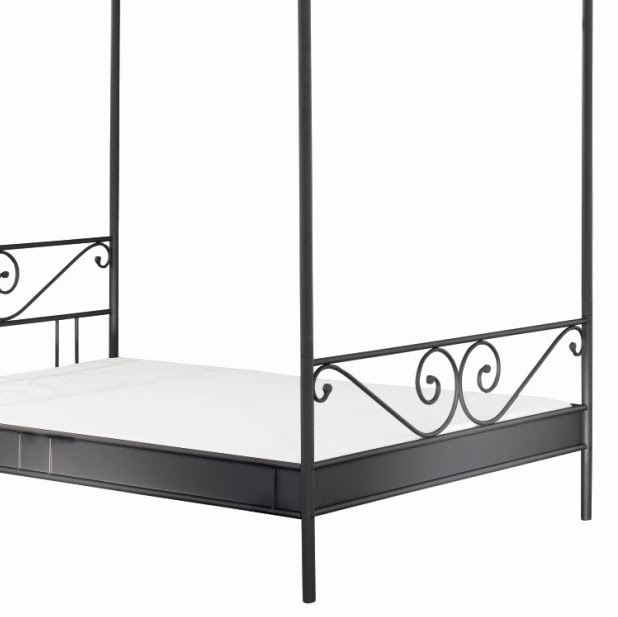 himmelbett aus metall google. Black Bedroom Furniture Sets. Home Design Ideas