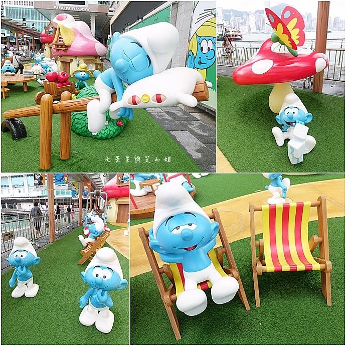 4 香港 海港城 Harbourcity 藍精靈 十分勁