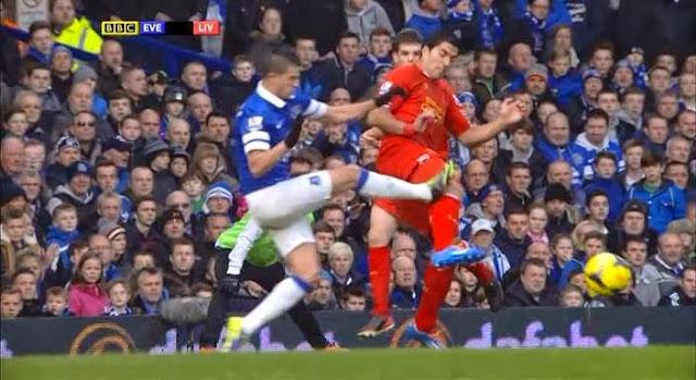 Suarez, Everton - Liverpool