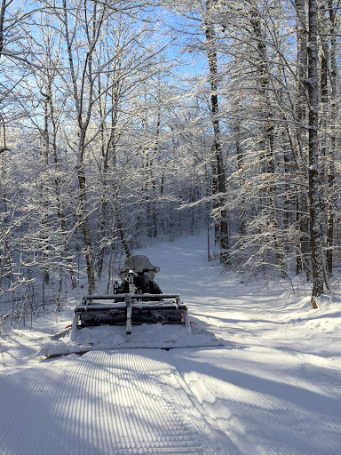 Smoothing out the trail on North Loup