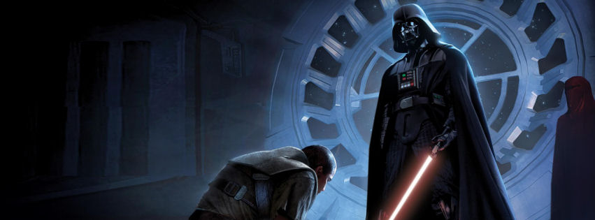 Star wars darth vader facebook cover