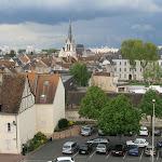 Château : vue vers le centre-ville