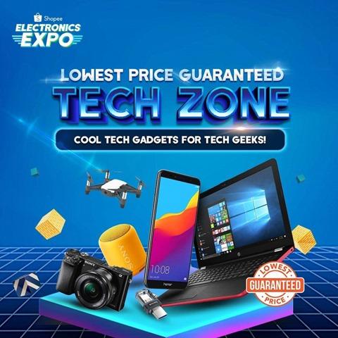 Haa Tepuk!!! Kempen Ekspo Elektronik Shopee - Jaminan Harga Terendah (LPG) (5)