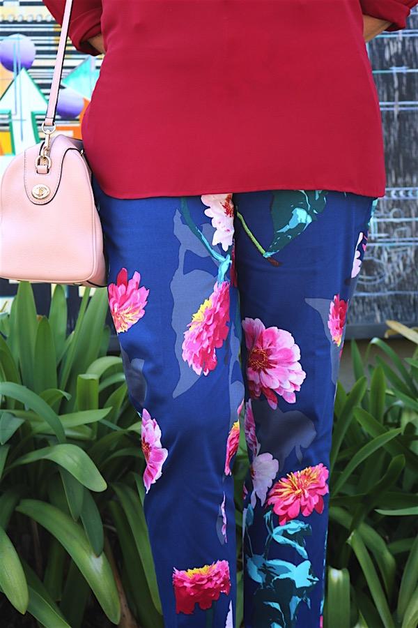 Floral Pants 6
