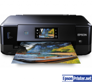 Reset Epson XP-760 printer by program