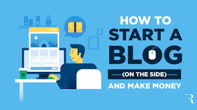 how to start a successful blog image