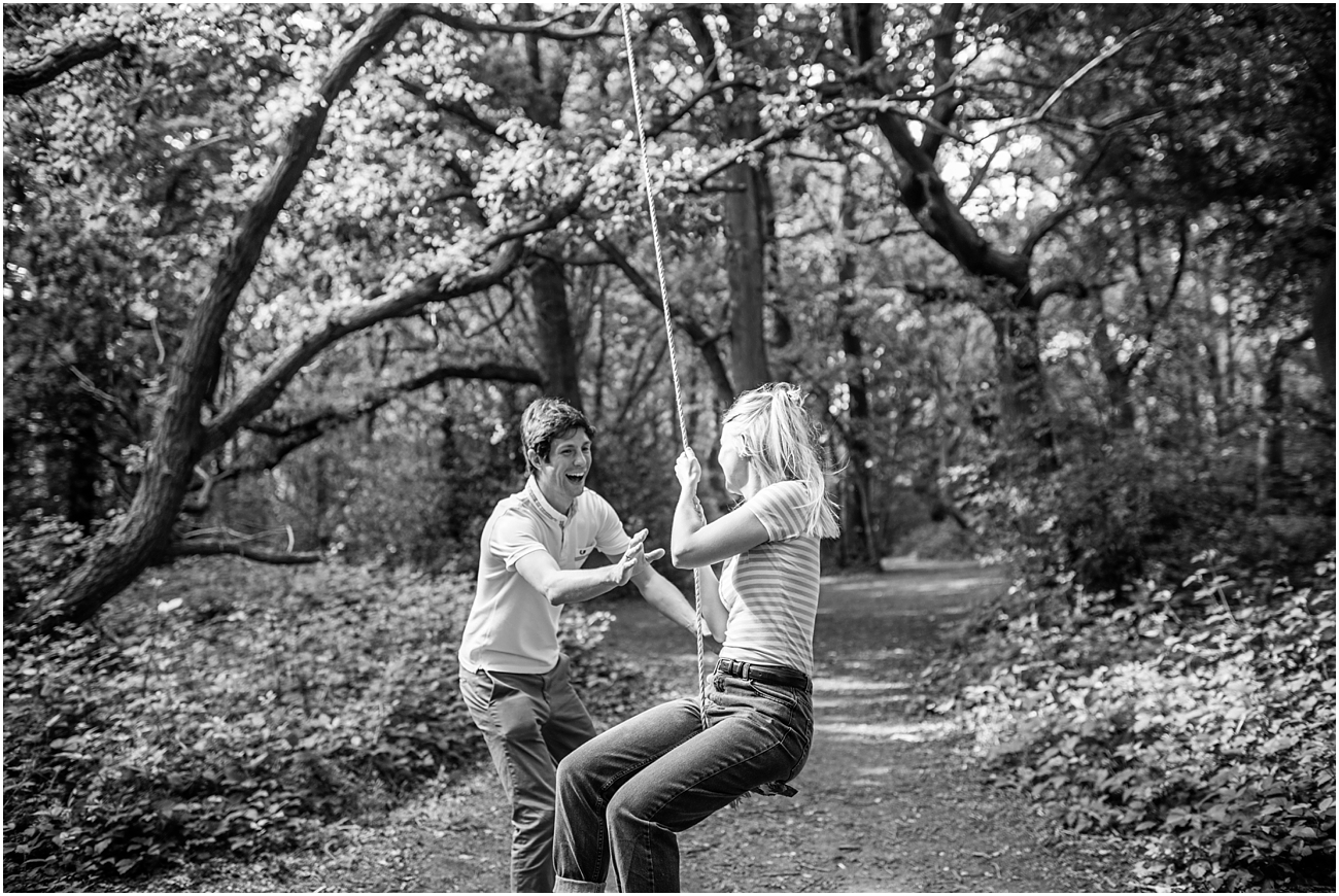 Tooting common engagement photos