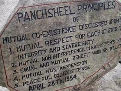 indo china war panchsheel aggreement
