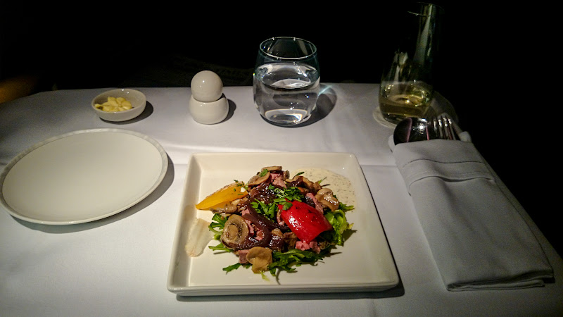 LHR SIN 43 - REVIEW - Singapore Airlines : Business Class - London to Singapore (B77WN)