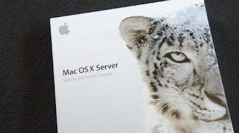 Snow Leopard Serverインストーラー