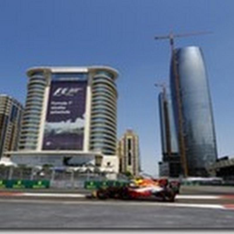 GP dell'Azerbaigian: Nelle libere il più veloce è Verstappen