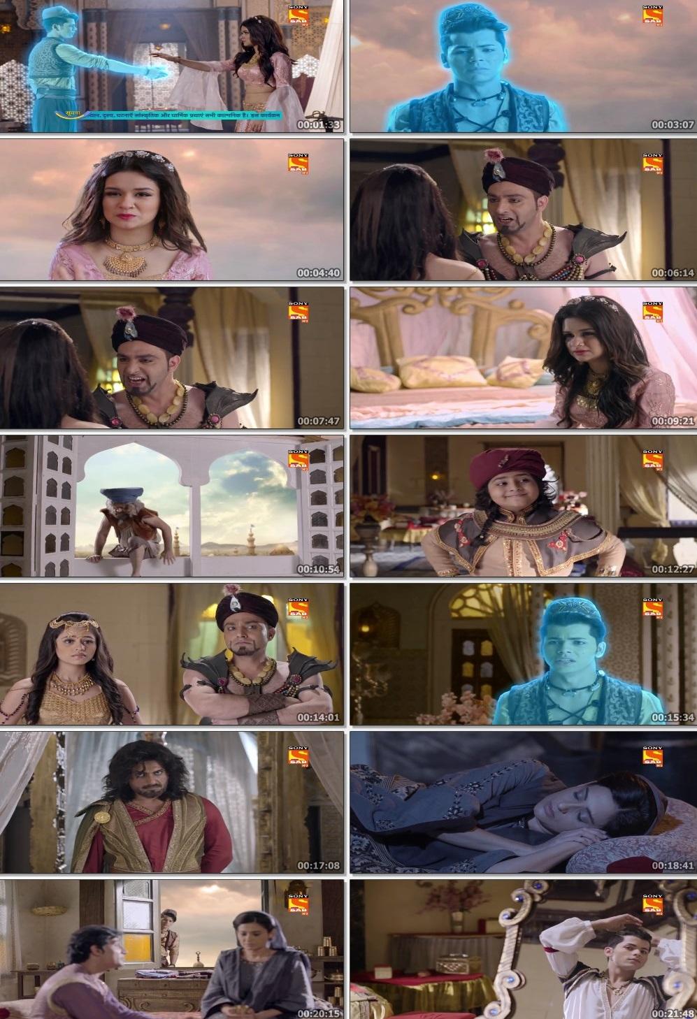 Screenshots Of Hindi Show Aladdin – Naam Toh Suna Hoga 2019 Episode 287 300MB 720P HD