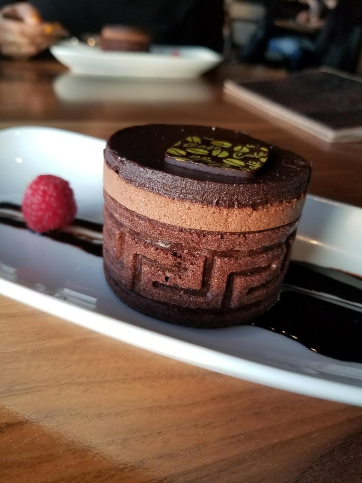 Chocolate cake dessert hyatt regency lake washington kfclovesyou