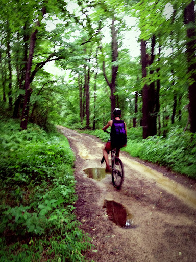 Mountain biking Laurel Highlands