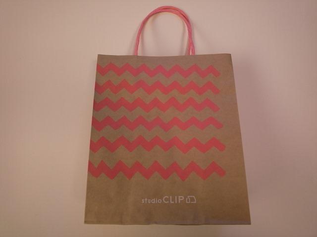スタジオクリップ紙袋studioCLIPショップ袋