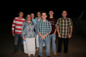 Ann, Susan and Charles with some of the youth form Dreka church.