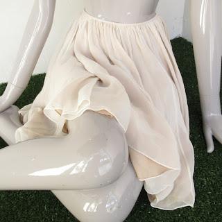 Naeem Khan Ruched Skirt