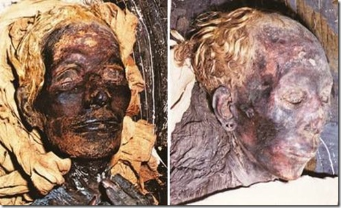 EGYPTIANS was blond
