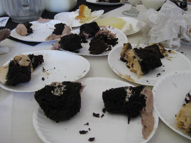 The cupcake carnage