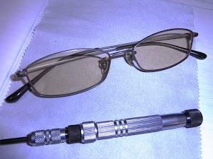 眼鏡の修理