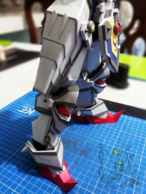 Knight Gundam (With Cape) Ver,Kai (1) 20140130_013951