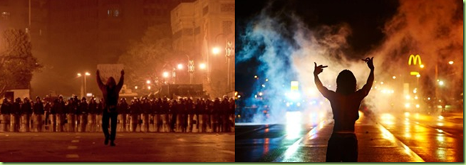 egypt and ferguson revolution