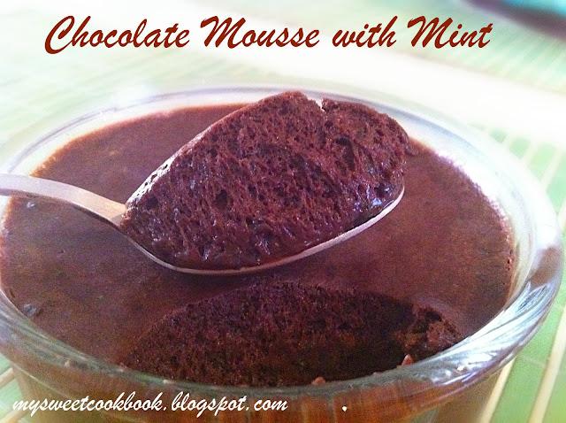 Рецепт №9: Шоколадный мусс с мятой