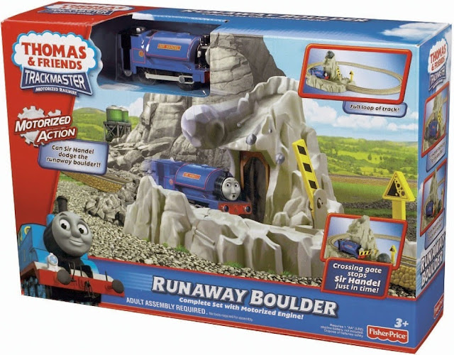 Sản phẩm Thomas & Friends Motorized Railway Handel Run Away Boulder Fisher Price V6752