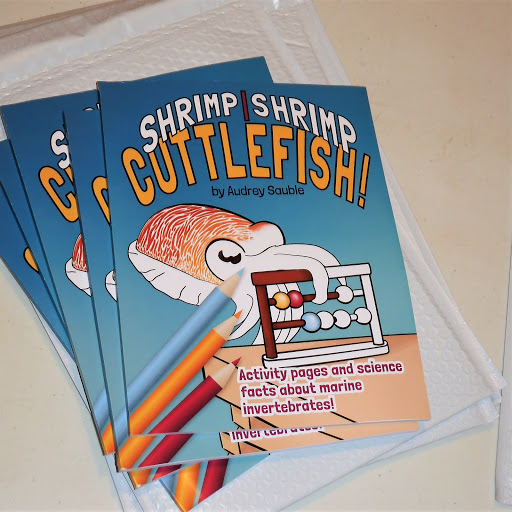 A picture of Shrimp, Shrimp, Cuttlefish - a children's activity book