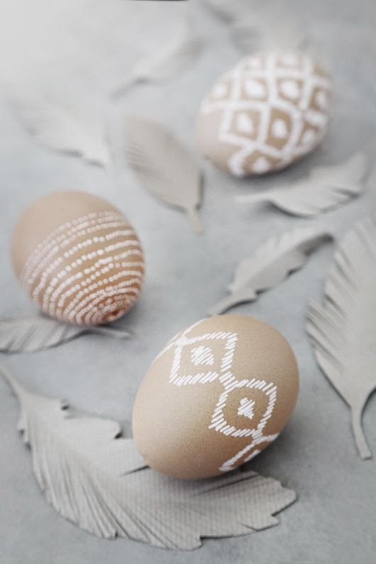 stylish Easter eggs