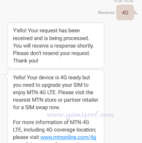 how do I know if my smartphone is compatible with Mtn 4g LTE in nigeria