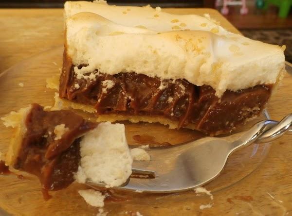 Fudge Cream Pie Recipe