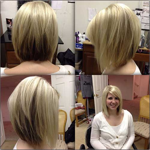 Surprising Angled Inverted Bob Haircut And Back View Fashion Qe Short Hairstyles For Black Women Fulllsitofus