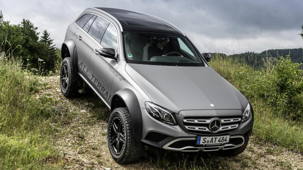 Sneak peek at the monstrous Mercedes-Benz E-Class All-Terrain 4x4 ...