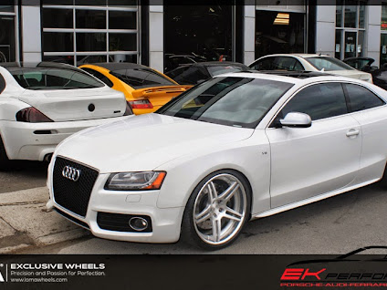Loma Audi S5 With Gumball Custom Forged Performance Wheels