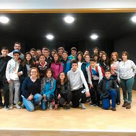 Alumnos del IES Enrique Diez-Canedo en Alemania