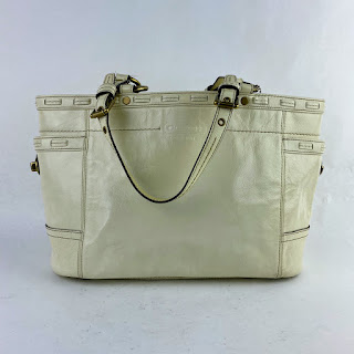 Coach Coated Leather Tote Bag
