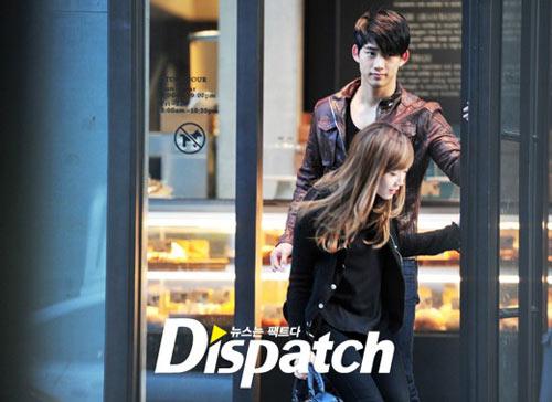 หรือว่า Taecyeon และ Jessica จะเป็นคู่รักคู่ใหม่