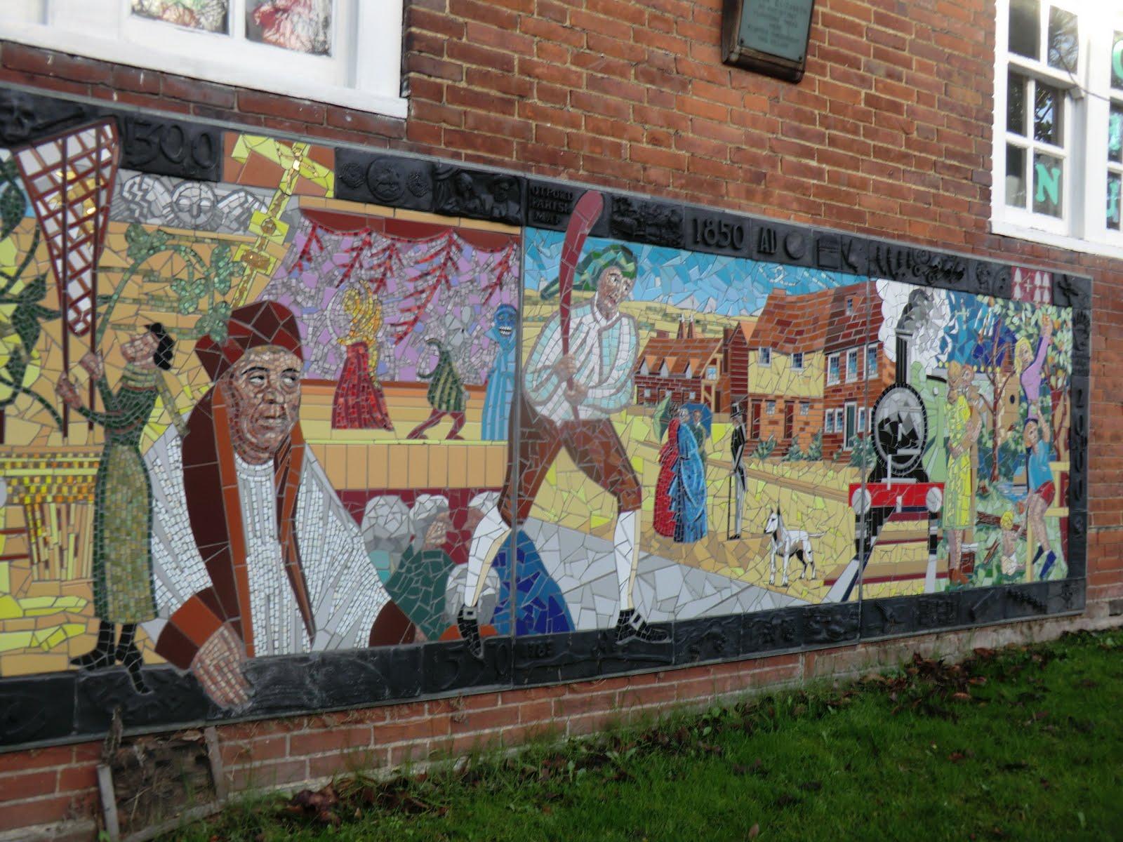 CIMG7990 Millennium mural, Otford