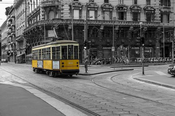 The old tram di Gabriele Tenan