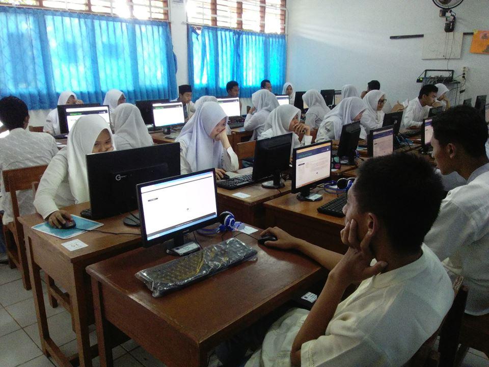 Try Out UNBK SMKN 4 Bogor