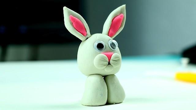 DIY Dough Rabbit