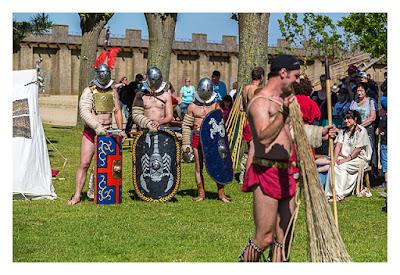 GeoXantike 2015 - Gladiatorkampf