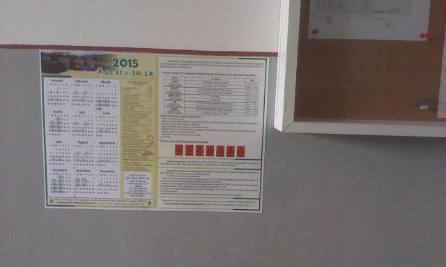 Distribuire gratuita a calendarelor cu date de colectare - IMAG0424.jpg